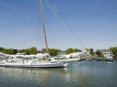 Dogwood Harbour, Tilghman Island, Talbot County, Chesapeake Bay Area, Maryland, USA