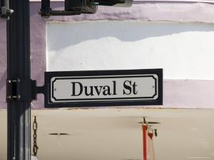 Duval Street, Key West, Florida, United States of America, North America by Robert Harding