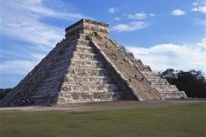 El Castillo, Chichen Itza, Yucatan, Mexico by Robert Harding