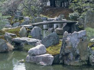 Garden, Nijo Castle, Kyoto, Japan, Asia by Robert Harding
