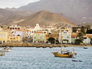 Harbour of Mindelo, Sao Vicente, Cape Verde Islands, Atlantic Ocean, Africa by Robert Harding