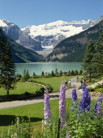 Lake Louise, Banff National Park, UNESCO World Heritage Site, Rocky Mountains, Alberta, Canada