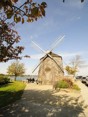 Model of Beebe Windmill, Sag Harbor, the Hamptons, Long Island, New York State, USA by Robert Harding