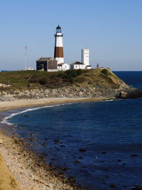Montauk Point Lighthouse, Montauk, Long Island, New York State, USA by Robert Harding