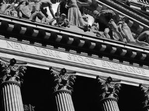 New York Stock Exchange, Wall Street Area, New York, New York State, USA by Robert Harding