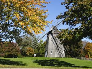 Old Hook Windmill, East Hampton, the Hamptons, Long Island, New York State, USA by Robert Harding