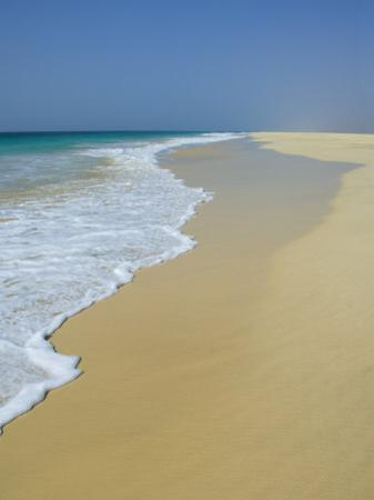 Praia De Santa Monica (Santa Monica Beach), Boa Vista, Cape Verde Islands, Atlantic, Africa by Robert Harding
