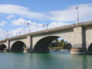 London Bridge, Lake Havasu City, Arizona, United States of America, North America by Robert Harding Productions