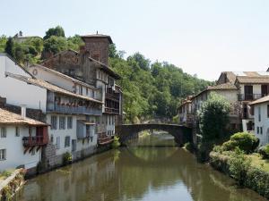 Saint Jean Pied De Port, Basque Country, Pyrenees-Atlantiques, Aquitaine, France by Robert Harding