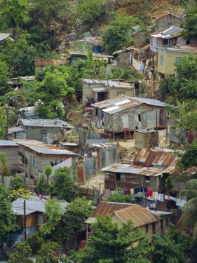 Shanty Town, Montego Bay, Jamaica, Caribbean, West Indies by Robert Harding