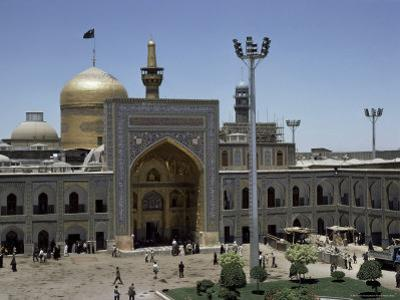 Shrine of Immam Riza, Mashad, Iran, Middle East by Robert Harding