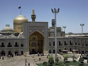 Shrine of Immam Riza, Mashad, Iran, Middle East by Robert Harding