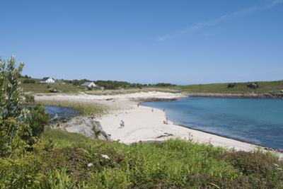 St. Agnes with Gugh in Background, Isles of Scilly, Cornwall, United Kingdom, Europe by Robert Harding