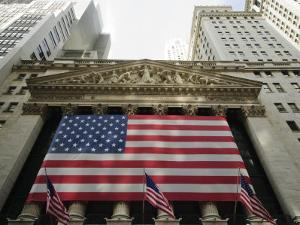 Stock Exchange, Financial District, Lower Manhattan, New York City, New York, USA by Robert Harding