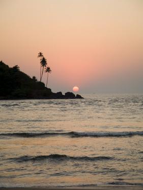 Sunset Over the Arabian Sea, Mobor, Goa, India by Robert Harding