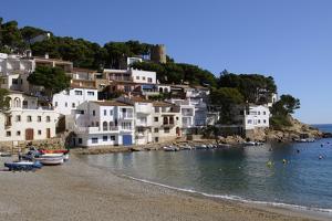 The Beautiful Cove of Sa Tuna, Near Begur, Costa Brava, Catalonia, Spain, Mediterranean, Europe by Robert Harding