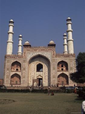 The Mausoleum of Akbar the Great, Sikandra, Agra, Uttar Pradesh, India by Robert Harding