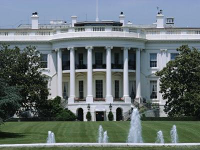 The White House, Washington Dc, USA by Robert Harding