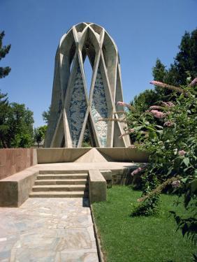 Tomb of Omar Khayyam, Iran, Middle East by Robert Harding