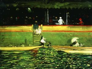 At Joinville, 1896 by Robert Henri