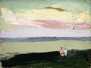 Coastal Scene at Sunset by Robert Henri