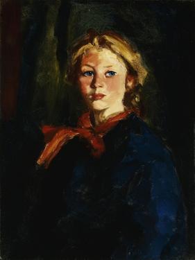 Miss Violet Organ (Katie McNamara) by Robert Henri