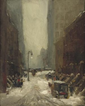 Snow in New York, 1902 by Robert Henri