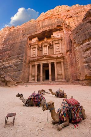 Petra in Jordan by Robert Hoetink