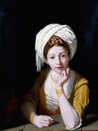 Portrait of a Lady as the Cumaean Sibyl, 1778-1789