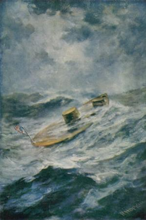 "The ""Monitor"" in a Storm by Robert Hopkin"