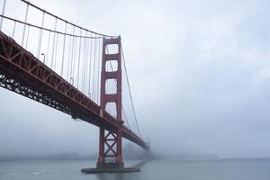 Golden Gate Bridge in Clouds by Robert Houser