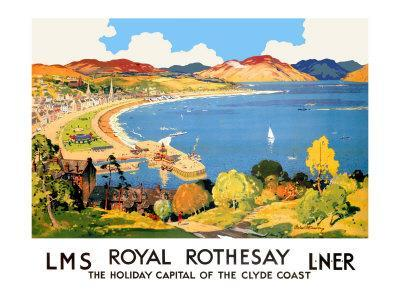 Royal Rothesay, the Holiday Capital of the Clyde