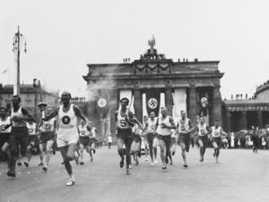 1936 Berlin Olympics by Robert Hunt