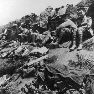 Allied Troops WWI by Robert Hunt