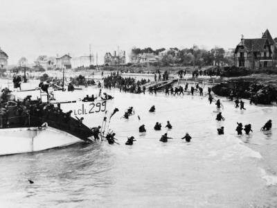 D-Day - British and Canadian Troops Landing - Juno Beach