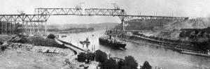 Kiel Canal WWI by Robert Hunt