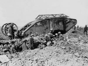 Mark I Tank by Robert Hunt