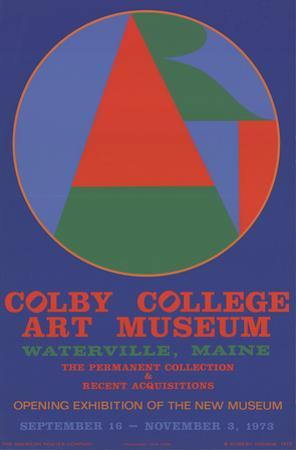 Colby College Art Musuem by Robert Indiana