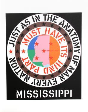 Mississippi (from the American Dream Portfolio) by Robert Indiana