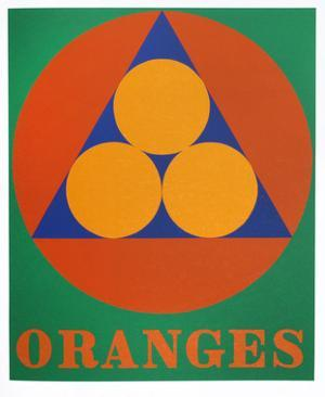 Oranges (from the American Dream Portfolio) by Robert Indiana