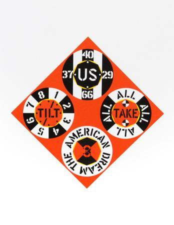 Red Diamond (from the American Dream Portfolio) by Robert Indiana