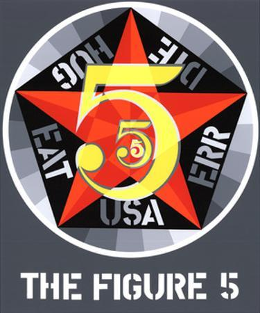 The Figure Five by Robert Indiana