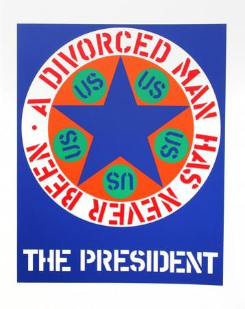 The President (from the American Dream Portfolio) by Robert Indiana