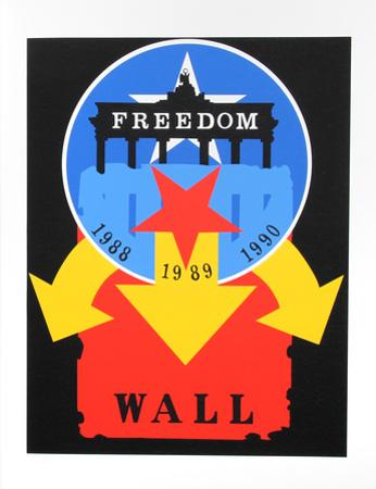 The Wall (from the American Dream Portfolio) by Robert Indiana