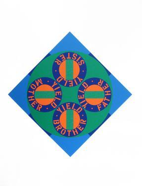 Yield Brother #2 (from the American Dream Portfolio) by Robert Indiana