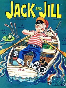Fishing  - Jack and Jill, July 1967 by Robert Jefferson