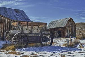 Winter Farm by Robert Kaler