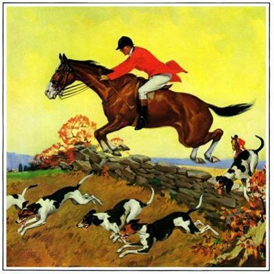 """""""Fox Hunter,""""November 1, 1932"""