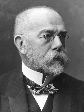 Robert Koch (1843-191), German Bacteriologist and Physician