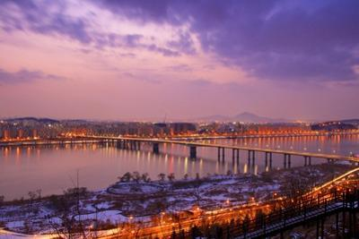 Gayang Bridge Seen from Noeul Park, Seoul
